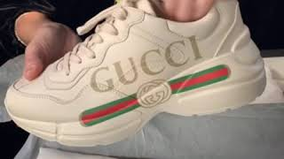 c76fe0243ec Luxury shoe review gucci rhyton unboxing curly monroe video