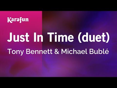 Karaoke Just In Time (duet) - Tony Bennett *
