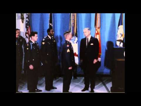 Medal of Honor Presentation by President Lyndon B. Johnson, 11/19/1968