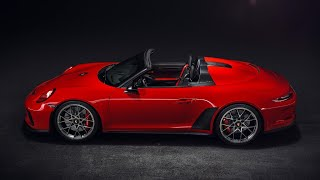 2019 PORSCHE 911 SPEEDSTER 510 PS & 6 speed manual