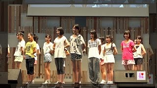 AKB48 チーム8ライブ新潟 1stDay #0 公開リハーサル(私服レッスン着) 『言い訳Maybe』 『ポニーテールとシュシュ』 AKB48 Team8 in 『長岡まつり2014』
