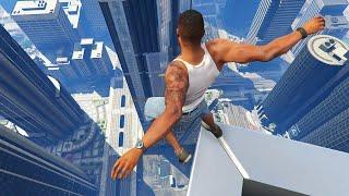 GTA 5 Funny Parkour Jumps/Falls ep.3