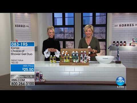 HSN | KORRES Beauty 01.05.2018 - 11 PM