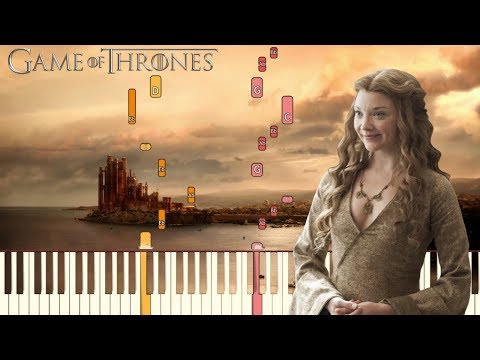 Game of Thrones Theme Wedding  Ft Pachelbel&39;s Canon  Piano Tutorial Synthesia