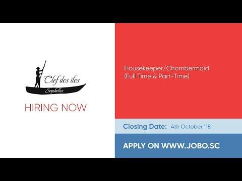 JOBO Jobs Listing on 10th September 2018