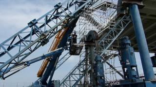 Kieldrechtsluis 04  Stalen brug lossen plaatsen afwerken