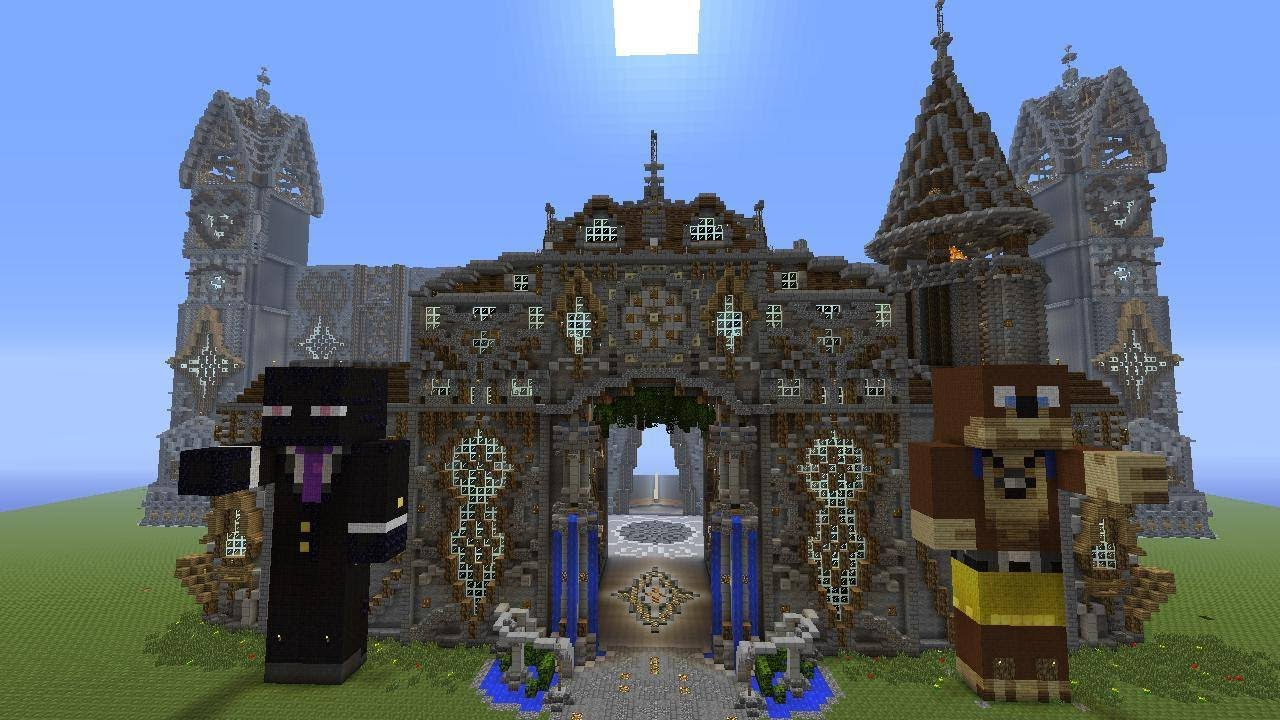 Cathedral Of Trilot Minecraft Medieval Built By LegendaryCraft YouTube