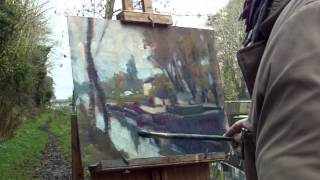 EDWARD SEAGO STYLE - SALLINS GRAND CANAL by Norman Teeling