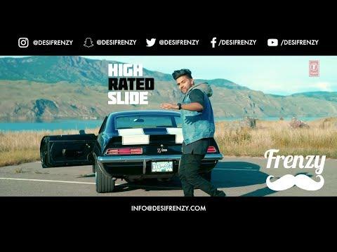 HIGH RATED SLIDE  |  DJ FRENZY  |  GURU RANDHAWA  |  Latest Punjabi Mix 2017