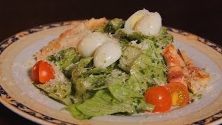 Салат Цезарь. Рецепт от шеф-повара.