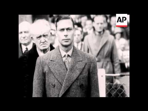 COMPILATION OF QUEEN ELIZABETH AND KING GEORGE VI - NO SOUND