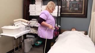 Caregiver Skills: Bath Blanket For Caregivers
