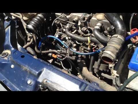 Форд тоурнео коннект 1.8 cdi глюк иммобилайзера часть 3