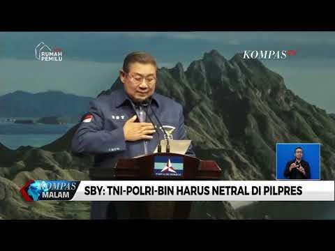 SBY Sampaikan Pidato Politik HUT Ke-17 Partai Demokrat