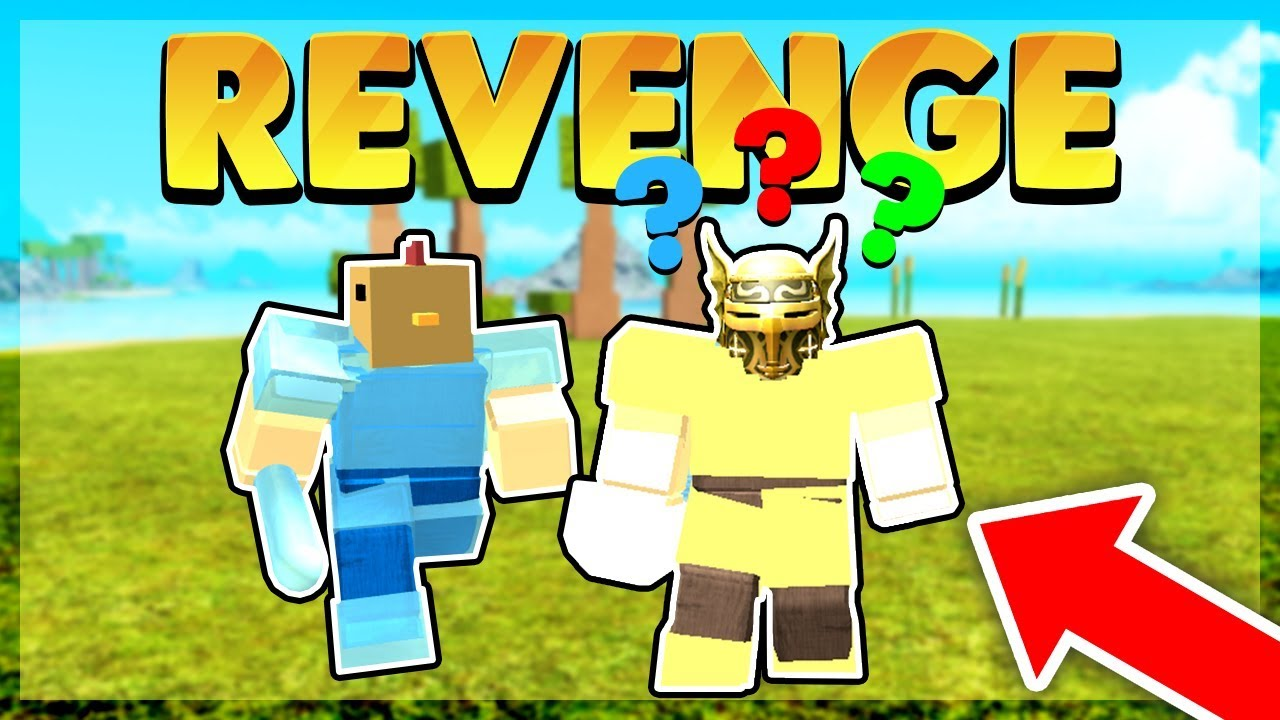 Getting Revenge On A God Player Roblox Booga Booga - booga booga roblox god