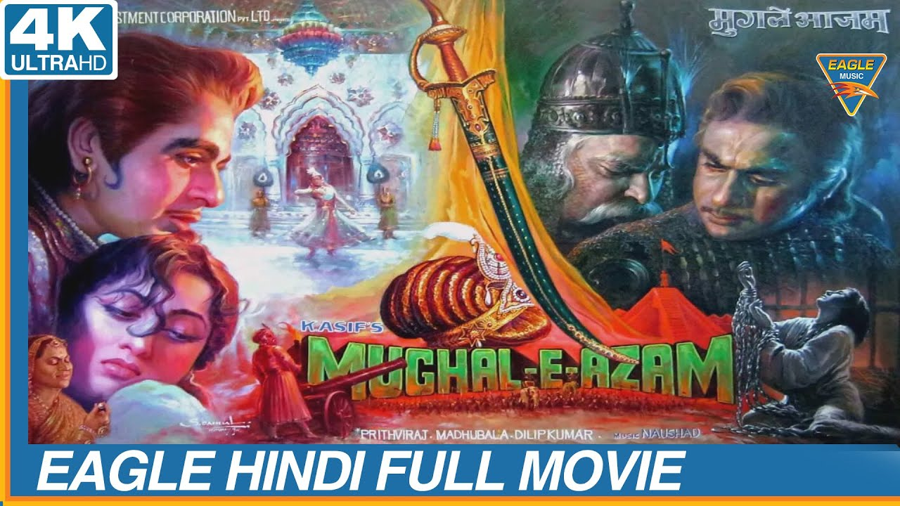 Download Tribute To #DilipSaab    Mughal E Azam Color Super Hit Hindi Full Movie   Eagle Home Entertainment