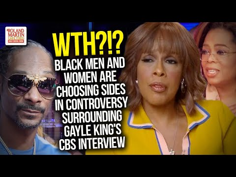 WTH?!? Black Men And Women Are Choosing Sides In Controversy Surrounding Gayle King's CBS Interview
