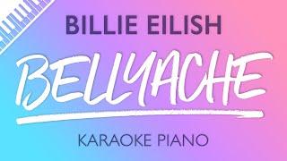 Bellyache (Piano Karaoke Instrumental) Billie Eilish
