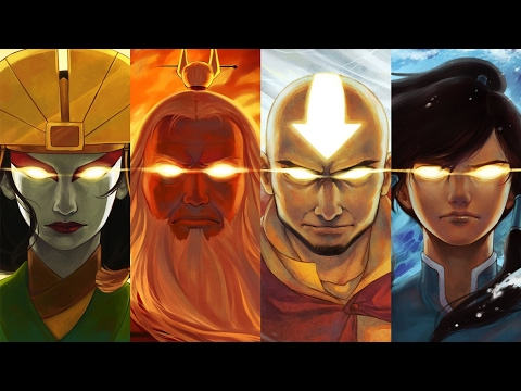 Top 50 Strongest Avatar The Last Airbender & Legend of Korra Characters 安昂 柯拉 [Series Finale]