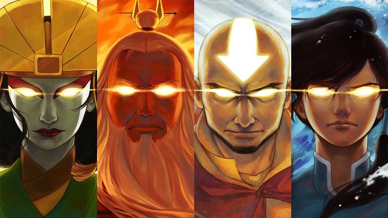 Top 50 Strongest Avatar The Last Airbender Legend Of Korra Characters Series Finale