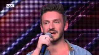 X FACTOR GREECE 2016 | AUDITIONS EPISODE 4 | BRADLEY WHITEDALE