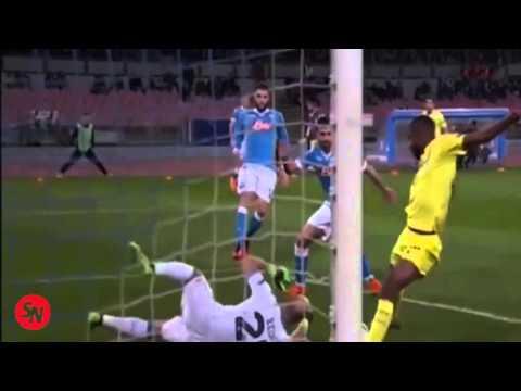 Napoli vs Villarreal 1- 1 Goales del partido europa league 2015-2016