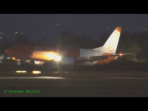 "TNT (ASL Airlines), B737-4Q8(SF) at Bologna ""G.Marconi"" Airport"