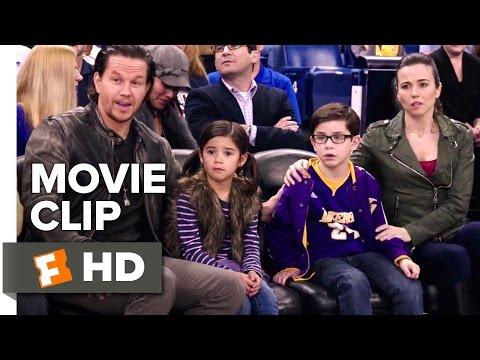 Daddy's Home Movie   Basketball Shot 2015  Mark Wahlberg, Linda Cardellini Comedy HD