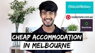 CHEAP Rental Accommodation In Melbourne | International Students