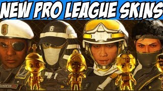 Rainbow Six Siege New Pro League Skins Y3S2 Lesion Capitao Echo Kapkan $100 Giveaway R6 Gameplay
