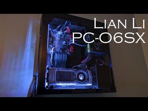 Hanging A Pc On Your Wall Lian Li Pc O6sx Build Process