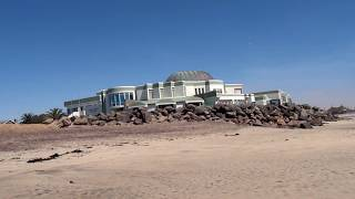 Swakopmund, Namibia: The Aquarium & beach fishing | Свакопмунд, Намибия: аквариум и рыбалка