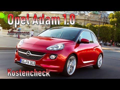 Opel Adam 1.0 2018 Unterhaltskosten | Jahreswagen