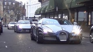 One-off Bugatti Veyron L'or Blanc back in London! thumbnail