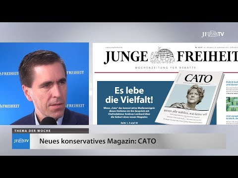 Ein Blick in die neue JF (37/17): Neues konservatives Magazin
