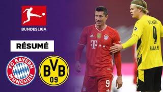 🇩🇪 Résumé : Un triplé de Lewandowski et le Bayern remporte le Klassiker contre Dortmund
