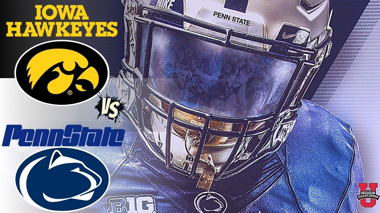No. 3 Iowa football beats No. 4 Penn State 23-20 in fourth quarter ...