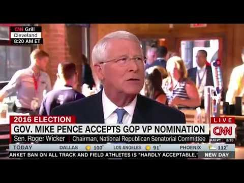 Senator Roger Wicker On CNN New Day Highlights l Roger Wicker For Senate