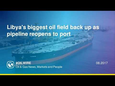 Libya's biggest oil field back up as pipeline reopens to port