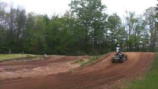 Big Air moto cross  Dirt race track Newaygo Michigan for dirt bikes and quads/ four wheelers Pro