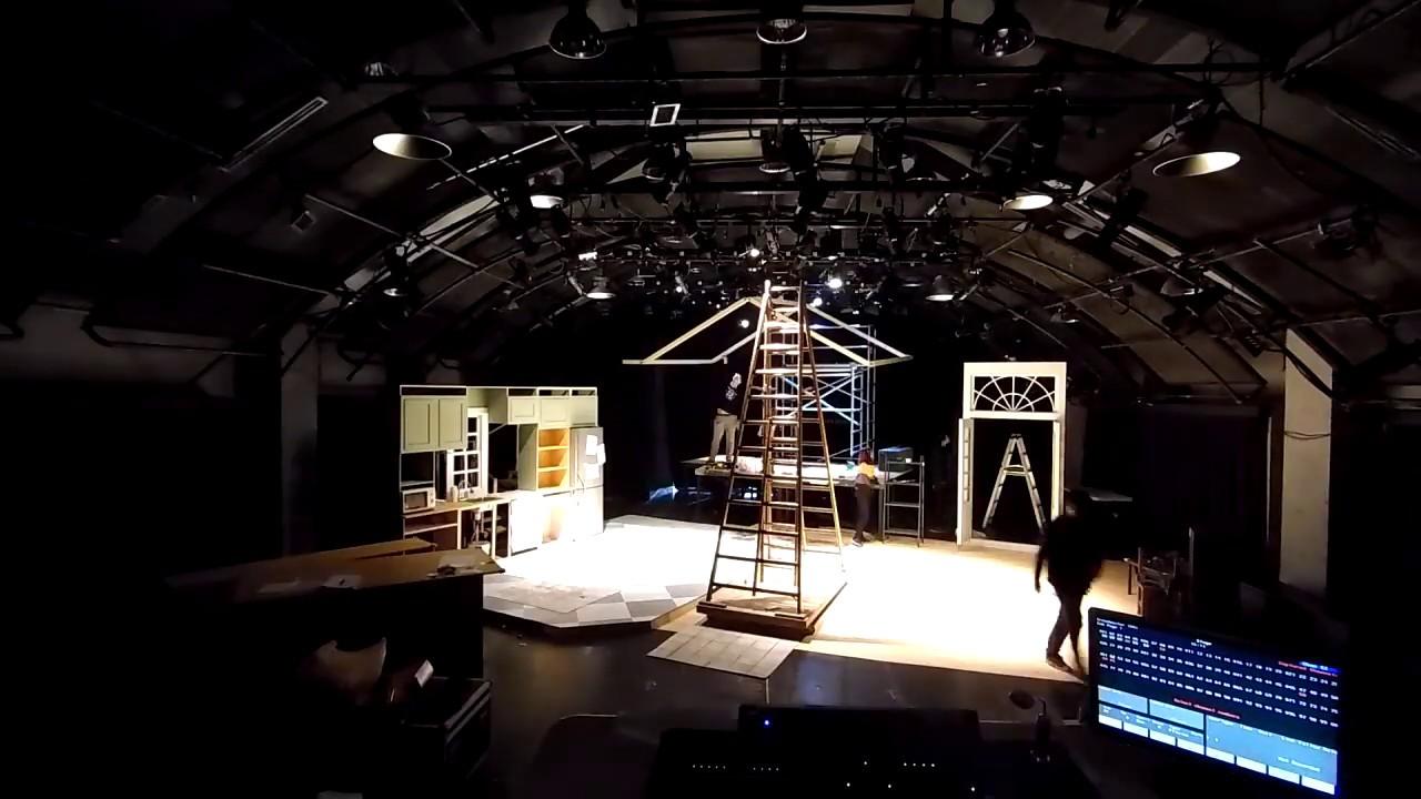 Rabbit hole (2017) Time-lapse. TNUA school of Theatre ...
