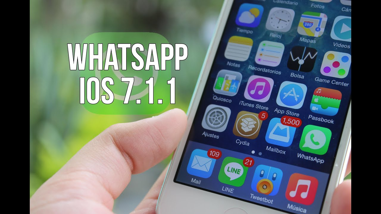 descargar whatsapp para ios 7.1 2