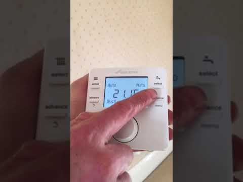Worcester Bosch Comfort Two Programmable Thermostats