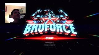 Broforce pre-game show