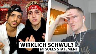 Justin reagiert auf Miguel's Statement.. Alles Fake? | Reaktion