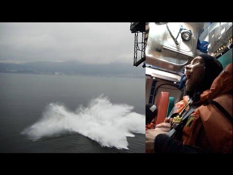 Lifeboat drop 30 meters