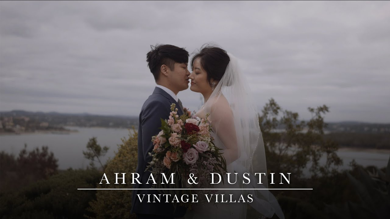 Ahram & Dustin | Stunning Wedding Filmed at Vintage Villas in Austin, Texas
