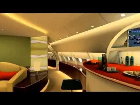 Visitez un A380 privé