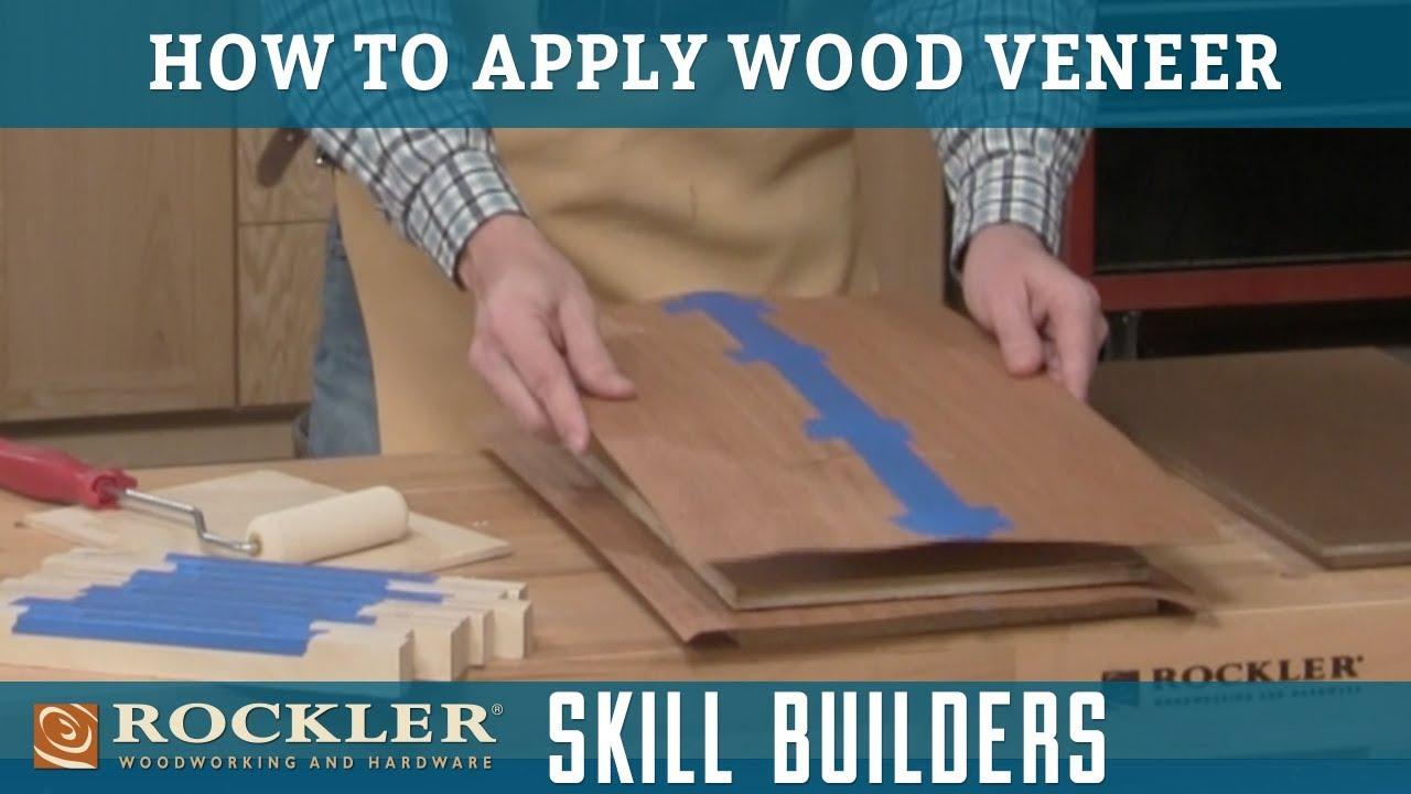 How To Ly Wood Veneer Rockler