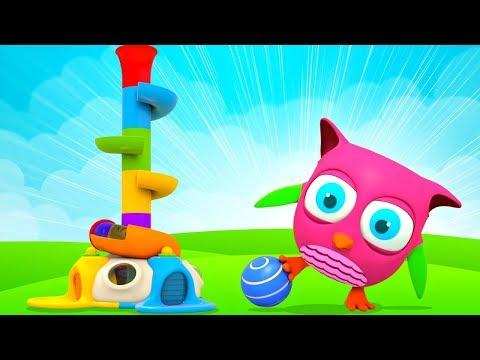 Горка с шариками - Сборник Совенок Хоп Хоп для маленьких детей